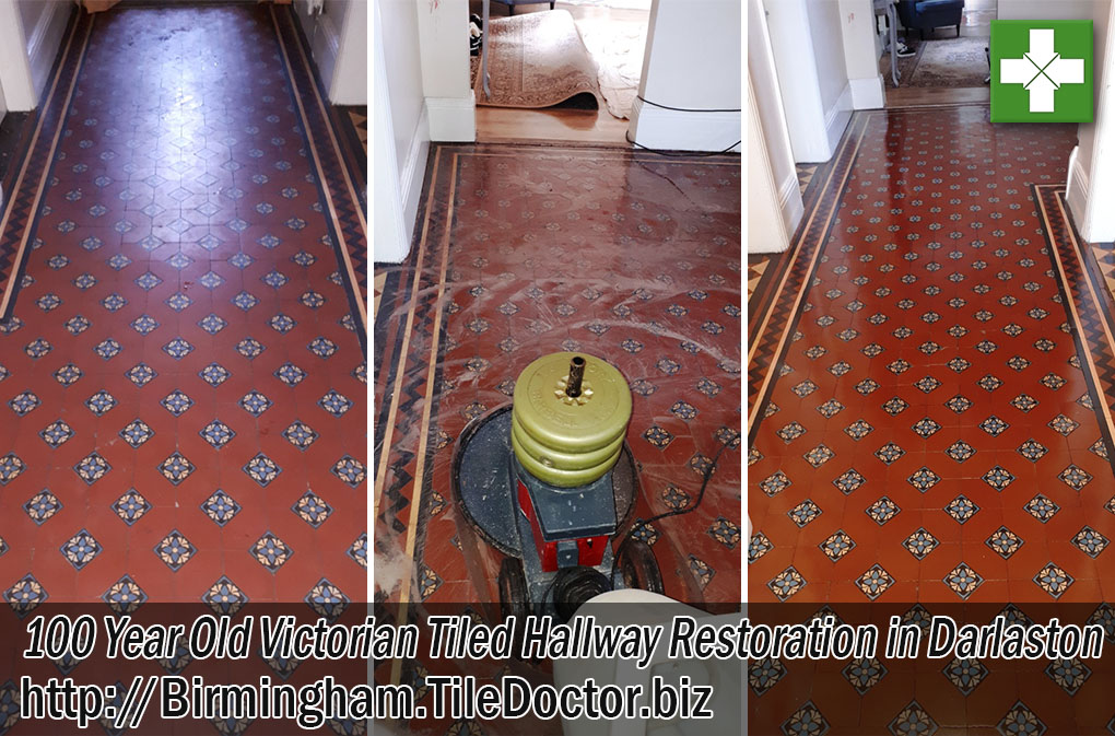 Victorian Tiled Hallway Restoration Darlaston