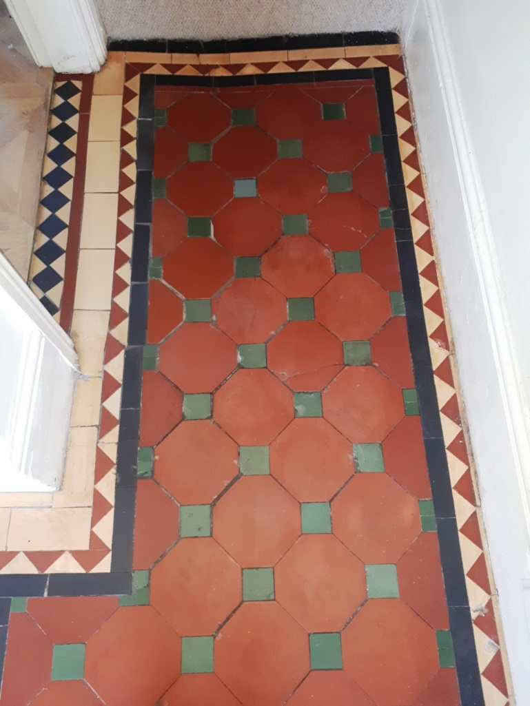 Victorian Hallway After Restoration Bearwood