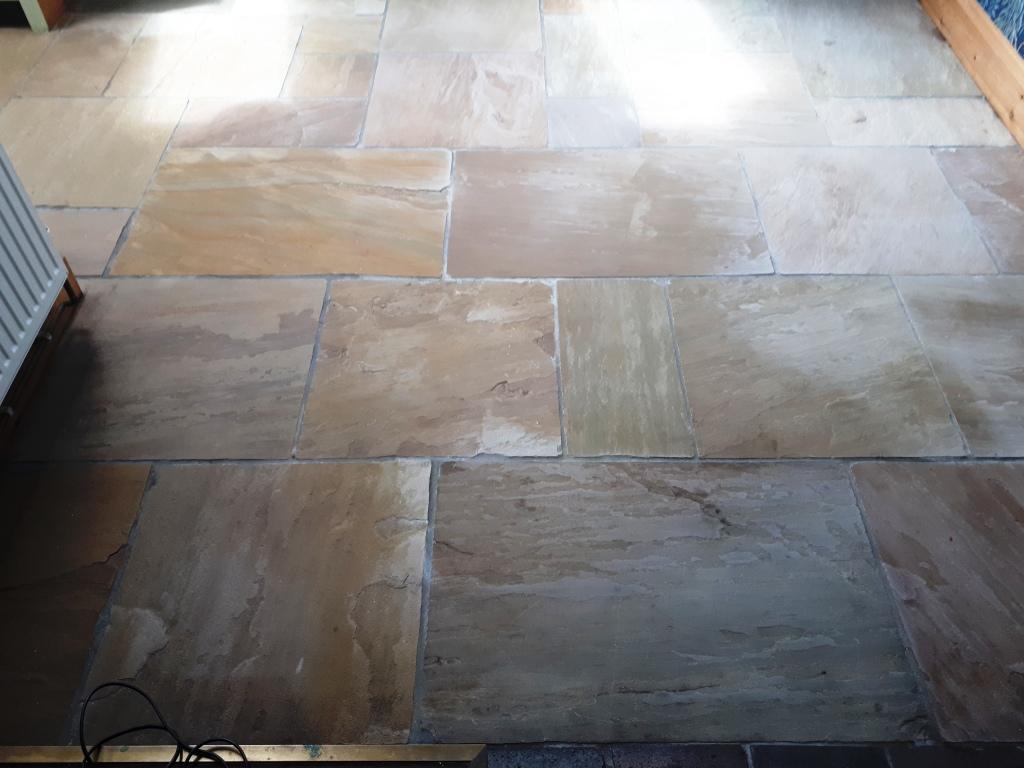 Sandstone Floor After Sealing Wolverhampton