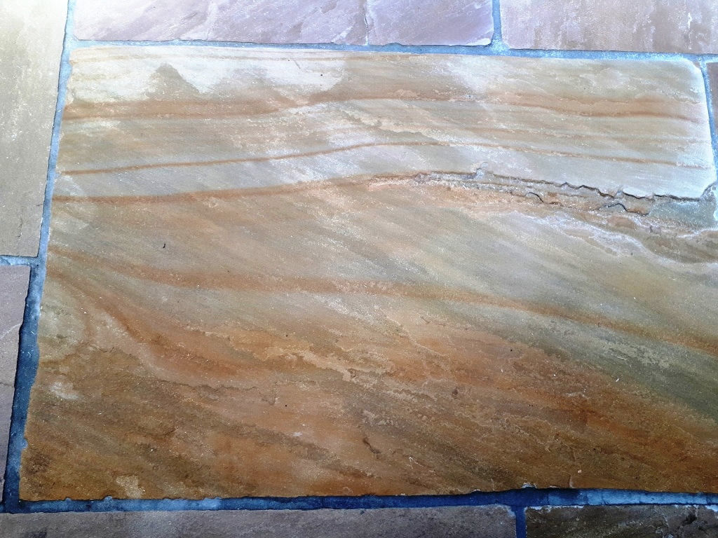 Sandstone Floor After Sealing Wolverhampton