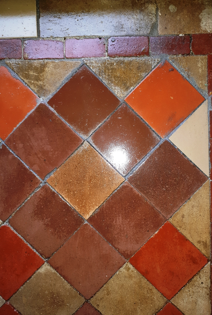 Victorian Tiled Hallway After Restoration Erdington