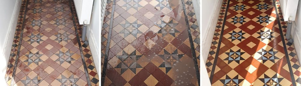 Restoration of a Victorian Tiled Hallway in Edgbaston, Birmingham
