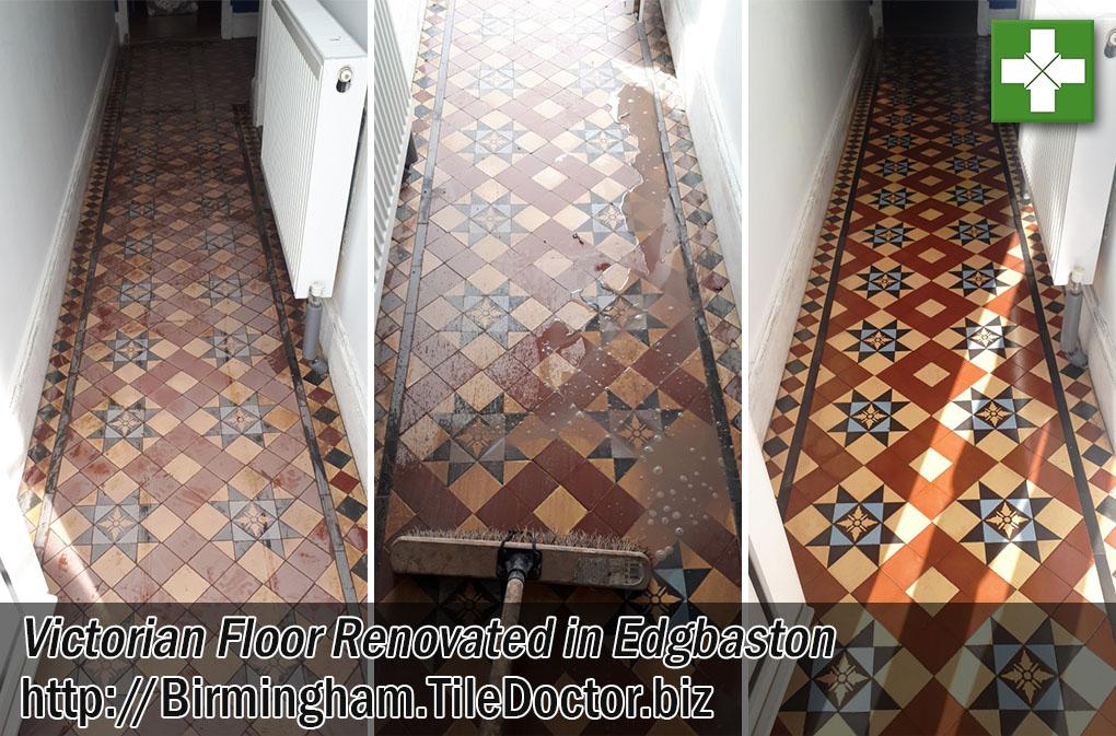 Victorian Floor Before After Renovation Edgbaston