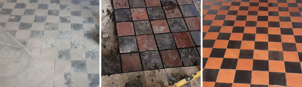 Restoring a Victorian Quarry Tiled Floor in Harborne