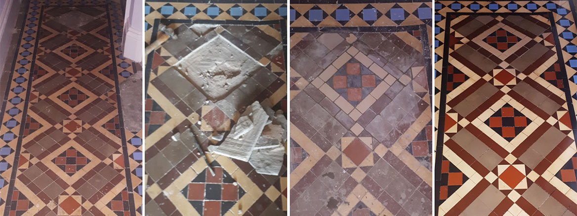 Minton Hallway Floor Restoration in Kings Heath
