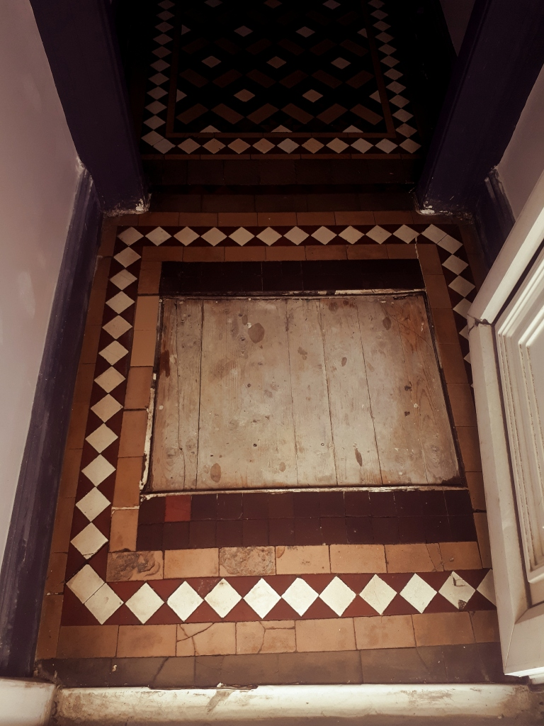 Victorian Tiled Hallway After Restoration Smethwick