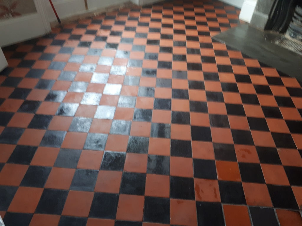 Quarry Tiled Floor After Renovation Harborne